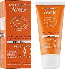 Parfums et Produits cosmétiques Crème solaire antioxydante pour peaux sensibles - Avene Sun High Protection Cream SPF 30