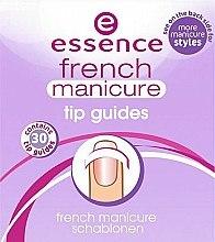 Parfums et Produits cosmétiques Guides autocollants pour french manucure - Essence French Manicure Tip Guides