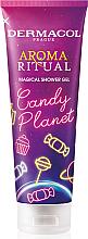 Parfums et Produits cosmétiques Gel douche Planète de bonbons - Dermacol Aroma Ritual Candy Planet Shower Gel
