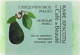 Parfums et Produits cosmétiques Savon glycériné à l'huile d'avocat et extrait de thé vert - Le Cafe de Beaute Glycerin Soap