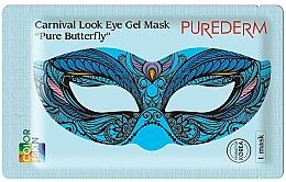Parfums et Produits cosmétiques Masque hydrogel pour contour des yeux - Purederm Carnival Look Eye Gel Mask Pure Butterfly