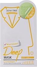 Parfums et Produits cosmétiques Masque éclaircissant à la citronelle pour visage - Dewytree Whitening Deep Mask