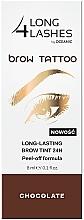 Parfums et Produits cosmétiques Encre à sourcils peel-off longue-tenue - Long4Lashes Brow Tattoo Long Lasting Brow Tint 24h
