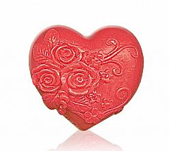Parfums et Produits cosmétiques Savon à la glycérine Coeur, rouge - Bulgarian Rose Soap