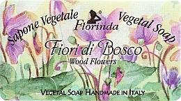 Parfums et Produits cosmétiques Savon végétal artisanal, Fleurs sauvages - Florinda Sapone Vegetale Vegetal Soap Wood Flowers