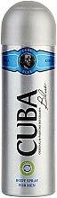 Parfums et Produits cosmétiques Cuba Blue - Déodorant spray parfumé