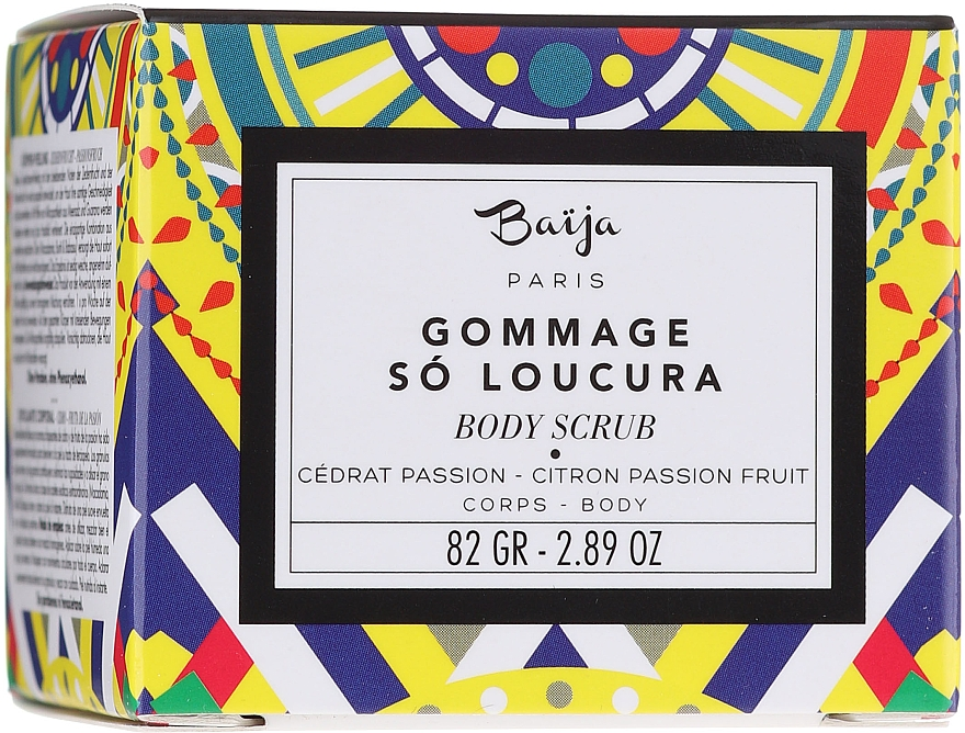 Coffret cadeau - Baija So Loucura (sh/gel/100ml + b/cr/75ml + b/scr/82g) — Photo N5