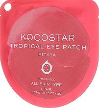 Parfums et Produits cosmétiques Patchs hydrogel à l'extrait de fruit du dragon contour des yeux - Kocostar Tropical Eye Patch Pitaya