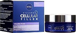 Parfums et Produits cosmétiques Crème de nuit au collagène et acide hyaluronique - Nivea Hyaluron Cellular Filler Night Cream