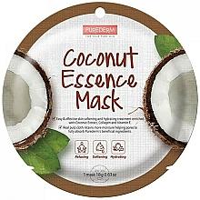 Parfums et Produits cosmétiques Masque à l'extrait de noix de coco pour visage - Purederm Coconut Essence Mask