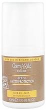 Parfums et Produits cosmétiques Crème solaire au beurre de karité pour visage et corps - Gamarde Solaire Organic High Protection SPF 50