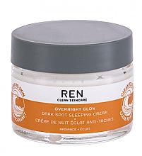 Parfums et Produits cosmétiques Crème de nuit - REN Clean Skincare Overnight Glow Dark Spot Sleeping Cream