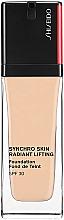Parfums et Produits cosmétiques Fond de teint - Shiseido Synchro Skin Radiant Lifting Foundation SPF 30