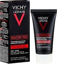 Parfums et Produits cosmétiques Mousse à raser pour peaux sensibles et irritées - Vichy Homme Structure Force Complete Anti-ageing Hydrating Moisturiser