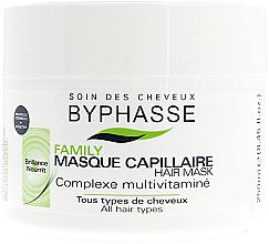 Parfums et Produits cosmétiques Masque au complexe multivitaminé pour cheveux - Byphasse Family Multivitamin Complexe Mask