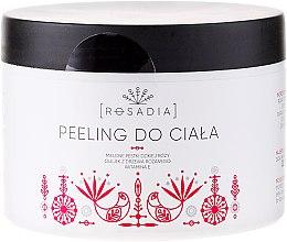 Parfums et Produits cosmétiques Gommage corporel avec cynorhodons moulus, huile de rosier et vitamine E - Rosadia