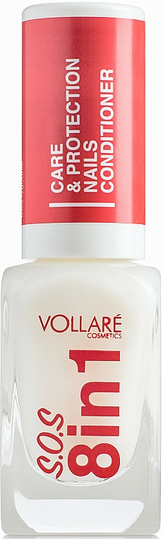 Revitalisant pour ongles - Vollare Cosmetics SOS 8in1
