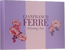 Parfums et Produits cosmétiques Gianfranco Ferre Blooming Rose - Set (eau de toilette/50ml + lotion corporelle/100ml)