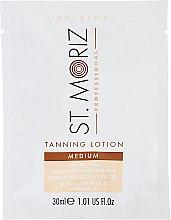 Parfums et Produits cosmétiques Lotion bronzante pour corps - St. Moriz Self Tanning Lotion Medium (échantillon)