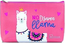 Parfums et Produits cosmétiques Trousse de toilette avec lama - IDC Design Accessories Cosmetig Bag