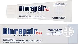 Parfums et Produits cosmétiques Dentifrice blanchissant quotidienne - BioRepair Plus PRO White