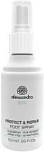 Parfums et Produits cosmétiques Spray antifongique pour pieds - Alessandro International Spa Protect & Repair Foot Spray
