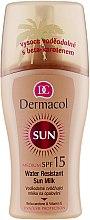 Parfums et Produits cosmétiques Lait solaire waterproof - Dermacol Water Resistant Sun Milk SPF 15