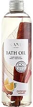 Parfums et Produits cosmétiques Huile de bain Orange et Cannelle - Kanu Nature Bath Oil Orange Cinnamon