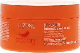 Parfums et Produits cosmétiques Masque à l'extrait de caroubier pour cheveux - H.Zone Murumuru Intensive Mask Oil