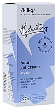 Parfums et Produits cosmétiques Gel-crème à l'aloe vera pour visage - Kili-g Hydrating Face Gel Cream