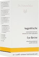 Parfums et Produits cosmétiques Lotion rafraîchissante en ampoules pour le contour des yeux - Dr. Hauschka Eye Revive