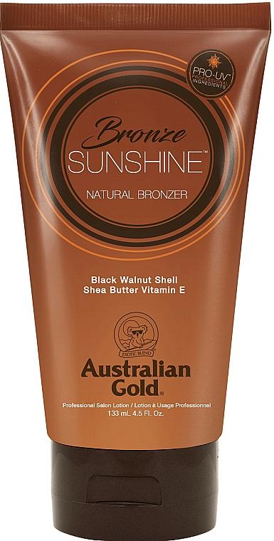 Lotion bronzante au beurre de karité et vitamine E pour corps - Australian Gold Bronze Sunshine