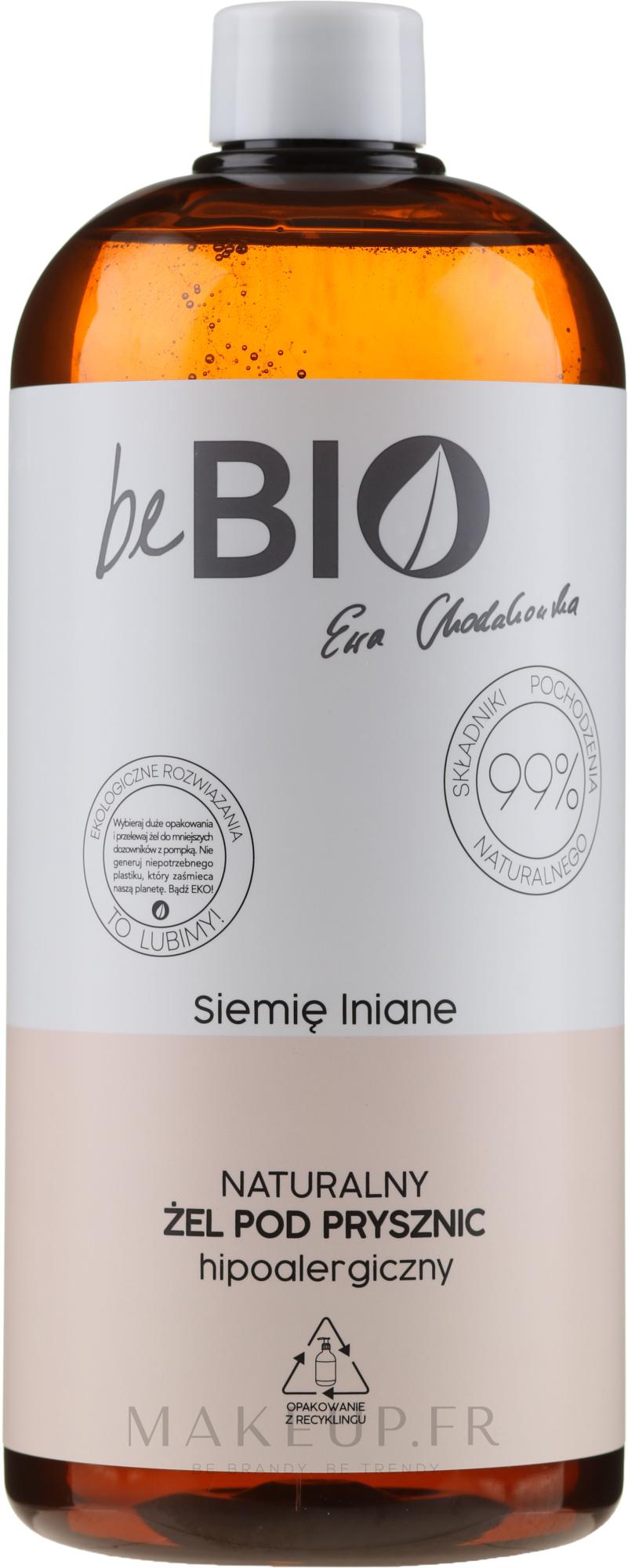 Gel douche bio au jus d'aloe vera - BeBio Natural Shower Gel — Photo 1000 ml