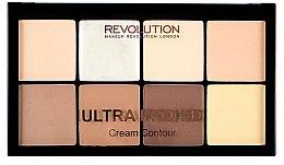 Parfums et Produits cosmétiques Palette crémeuse de contour pour visage - Makeup Revolution HD Pro Cream Contour