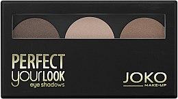 Parfums et Produits cosmétiques Trio fards à paupières - Joko Perfect Your Look Trio Eye Shadows
