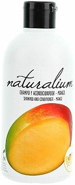 Shampooing et après-shampooing à la mangue - Naturalium Shampoo And Conditioner Mango