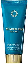 Parfums et Produits cosmétiques Masque aux minéraux de la mer Morte pour visage - Minerallium Purifying Mud Masqu
