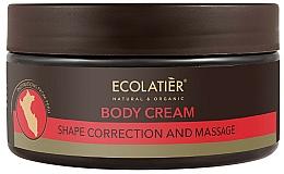Parfums et Produits cosmétiques Crème modelante de massage à l'huile de graines de cacao pour corps - Ecolatier