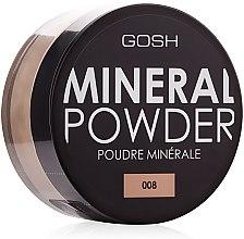 Parfums et Produits cosmétiques Poudre libre minérale pour visage - Gosh Mineral Powder