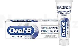 Parfums et Produits cosmétiques Dentifrice blanchissant - Oral-B Professional Gum & Enamel Pro-Repair Gentle Whitening