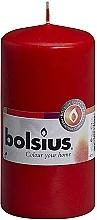 Parfums et Produits cosmétiques Bougie cylindrique, rouge, 120x60 mm - Bolsius Candle