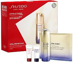 Parfums et Produits cosmétiques Coffret cadeau - Shiseido Vital Perfection (eye/cr/15ml + conc/5ml + cr/5ml + mask/1pcs)