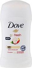 Parfums et Produits cosmétiques Déodorant stick parfum pomme et thé blanc - Dove Go Fresh Apple & White Tea Deodorant