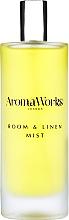 Parfums et Produits cosmétiques Spray d'ambiance, Basilic et Lime - AromaWorks Light Range Room Mist