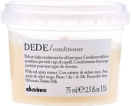 Parfums et Produits cosmétiques Après-shampooing à l'extrait de céleri rouge - Davines Essential Haircare Dede Delicate Air Conditioning