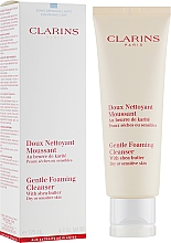 Doux nettoyant moussant visage - Clarins Gentle Foaming Cleanser with Shea Butter — Photo N1