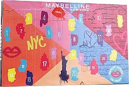 Parfums et Produits cosmétiques Calendrier de l'Avent 2020 - Maybelline Advent Calendar 2020