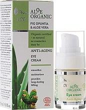 Parfums et Produits cosmétiques Crème anti-âge à l'aloès et figuier de Barbarie contour des yeux - Ava Laboratorium Aloe Organiic Eye Cream