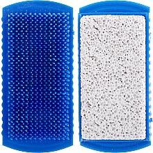 Parfums et Produits cosmétiques Brosse à ongles avec pierre ponce, 71041, bleu - Top Choice