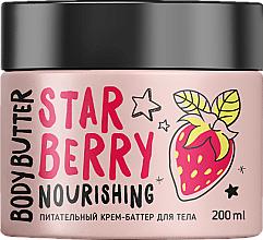 Parfums et Produits cosmétiques Crème-beurre à l'extrait de fraise pour corps - MonoLove Bio Star Berry Body Butter